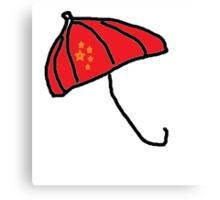 Umbrella Revolution Canvas Print