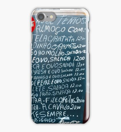 volte sempre! iPhone Case/Skin