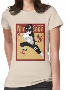 THIS IS MANGA - LEE TAIJUTSU 2 Womens Fitted T-Shirt