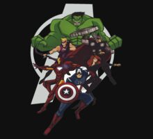 Avengers Assemble by Jose Romero