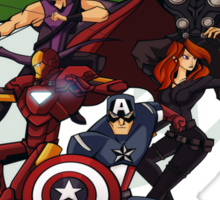 Avengers Assemble Sticker
