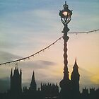 westminster street lamp by cocosuspenders