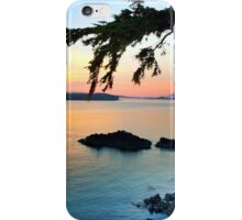 Middle Beach Sunset in Tofino, BC iPhone Case/Skin