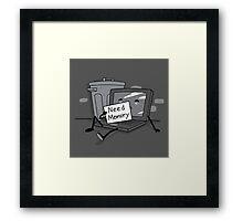 Need Memory Framed Print