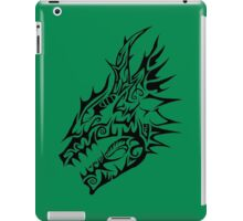 Black Dragon head iPad Case/Skin