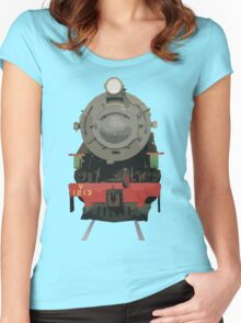 WAGR V Class Locomotive 1213 Women's Fitted Scoop T-Shirt