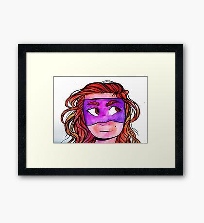 ink! Framed Print