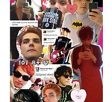 Gerard Way Collage by MissKyleighJ