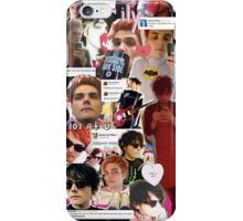 Gerard Way Collage iPhone Case/Skin