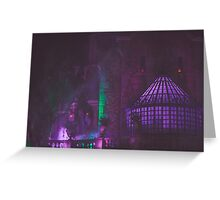 haunted mansion. Greeting Card