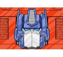 Optimus Prime Photographic Print