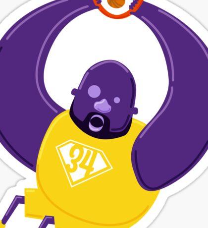 Super Shaq Sticker