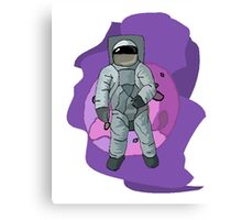 Astronaut Floating In Space Canvas Print
