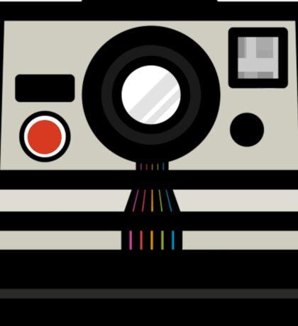 Polaroid SX-70 Rainbow Sticker