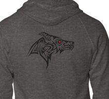 Dark Wolf profile Zipped Hoodie