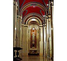 Cathedral Basilica of Saint Louis Interior Study 6  Photographic Print