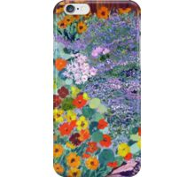 Nasturtium garden . iPhone Case/Skin
