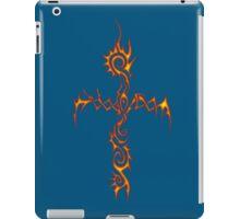 Flame Thorn Cross iPad Case/Skin