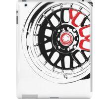 Black and Red Rim iPad Case/Skin