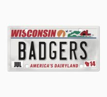 License Plate - BADGERS Kids Clothes
