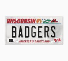 License Plate - BADGERS by TswizzleEG