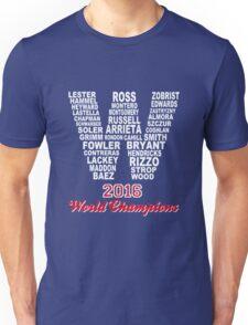 FLY THE W 2016 WORLD CHAMPIONS T-Shirt Unisex T-Shirt
