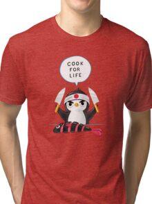 Penguin Chef  Tri-blend T-Shirt