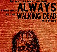Zombie Survival Guide Quote by geekchicprints