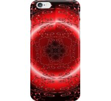 Galaxy Red Rose Moon Eye iPhone Case/Skin