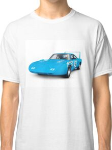 1970 Plymouth Superbird retro race car art photo print Classic T-Shirt