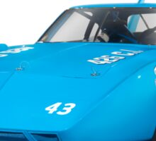 1970 Plymouth Superbird retro race car art photo print Sticker