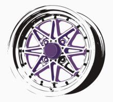 Purple and Black Rim by TswizzleEG