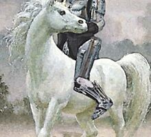 Robocop On A Unicorn by MelonLoaf
