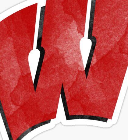 wisconsin badgers  Sticker