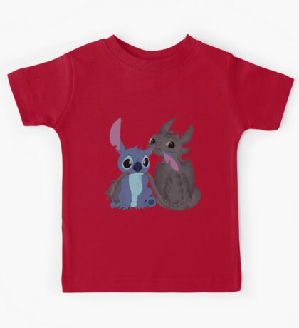 Toothless and Stitch Kids Tee