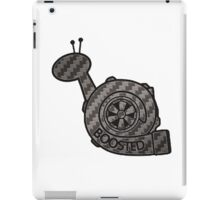 Carbon Fibre Boosted Turbo Snail iPad Case/Skin