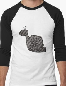 Carbon Fibre Boosted Turbo Snail Men's Baseball ¾ T-Shirt