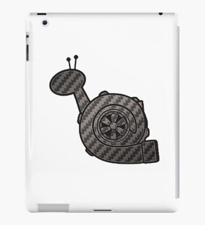 Carbon Fibre Turbo Snail iPad Case/Skin