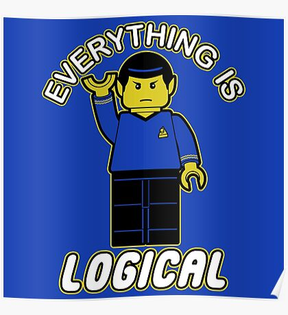 Everything is logical Poster