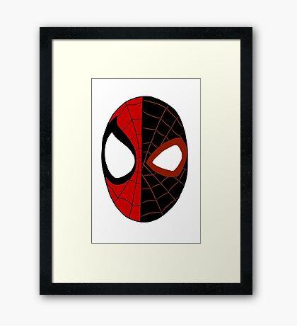 Peter/Miles Framed Print