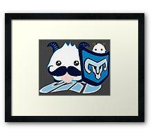Braum Poro - League of Legends Framed Print