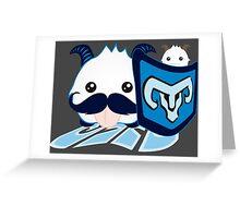 Braum Poro - League of Legends Greeting Card
