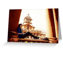 A day out in Greenwich - Old Naval College Greeting Card