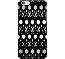 Black Eyelit Forged lace iPhone Case/Skin