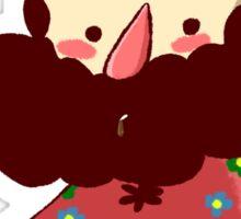 LISA the painful rpg-Birdie Hall Sticker