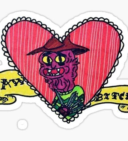Awww Bitch <3 Sticker