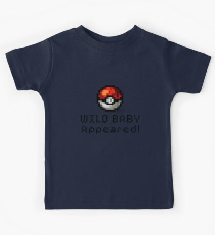 Wild Baby Appeared! Kids Tee