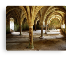 Battle Abbey Interior Canvas Print