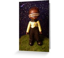 Chibi Chief Engineer Greeting Card