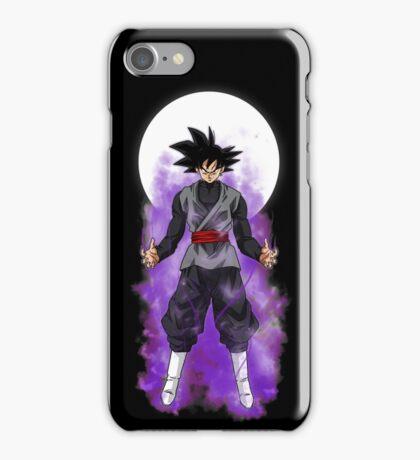 Black goku iPhone Case/Skin
